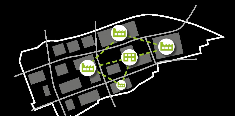 Studie // Symbiotische Gewerbegebiete: nachhaltige Ansätze, Potenziale für die Strukturwandelregionen sowie Möglichkeiten und Grenzen der Übertragbarkeit auf nutzungsgemischte Quartiere