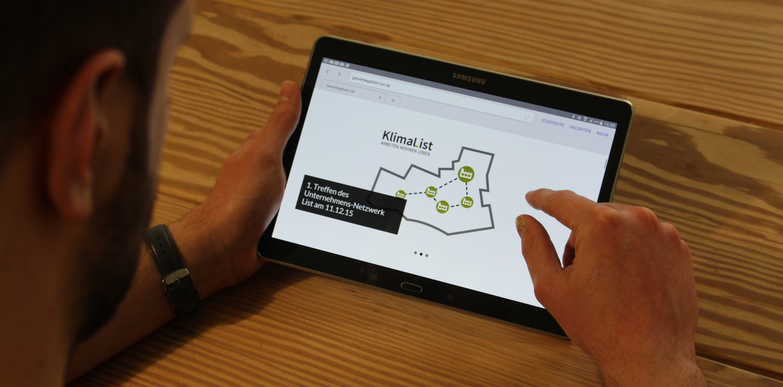 Virtueller Marktplatz KlimaList Hannover