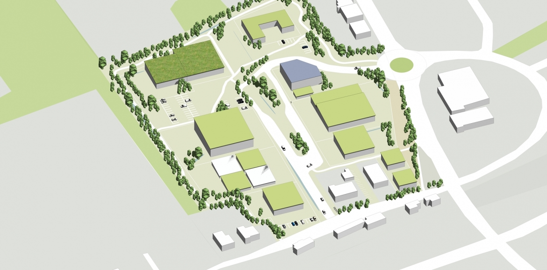Gewerbeflächenentwicklung Stadt Nalbach