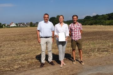 Projekt // Erzhausen erhält als erste hessische Modellkommune die Förderung zur Entwicklung des Energiekonzeptes für eine Plus-Energie-Siedlung