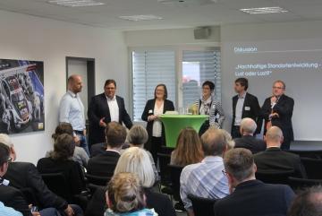 Vorstellung des Entwicklungskonzeptes für ein zukunftsfähiges Gewerbegebiet Dorstfeld  West in Dortmund
