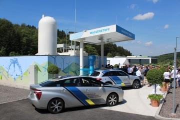Veranstaltung // Eröffnung Wasserstofftankstelle in Siegener Industriegebiet