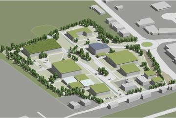 Projekt // Saarländische Innenministerium fördert die Umsetzung des ökologischen Gewerbegebietes in Nalbach