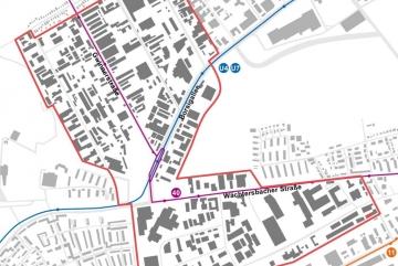 Projekt // Klimaschutzteilkonzept Nachhaltiges Gewerbegebiet Fechenheim-Nord / Seckbach in Frankfurt am Main