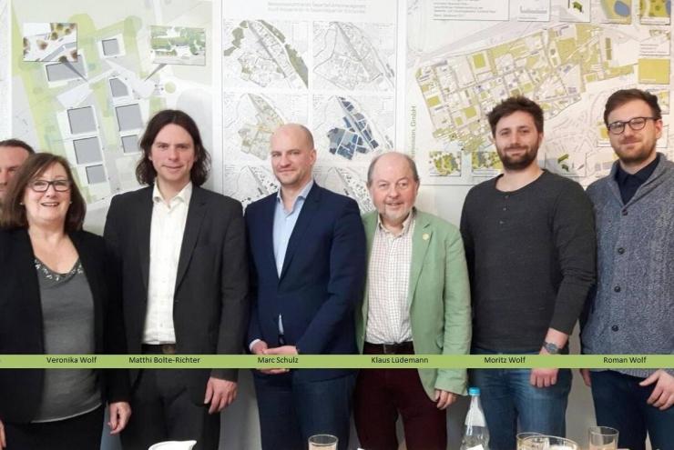 MdL Matthi Bolte-Richter besucht Zero Emission GmbH