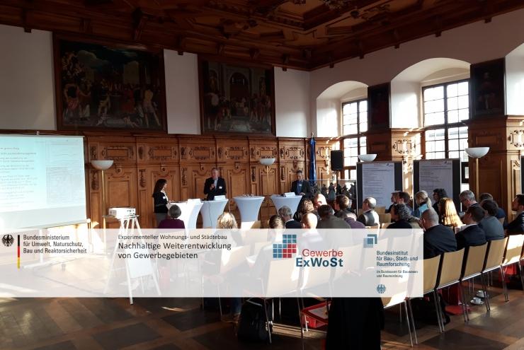 Gewerbe ExWoSt // Treffen der Modellvorhaben in Augsburg